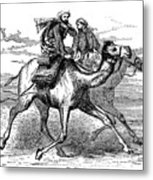 Mohammed (570-632) Metal Print