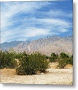 Mojave Pan 2 Metal Print