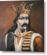 Moldavian Prince Stefan Cel Mare Metal Print