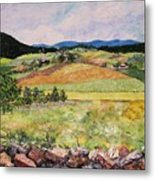 Mole Hill In Summer Metal Print