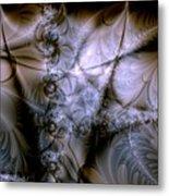 Molecular Cacao Metal Print
