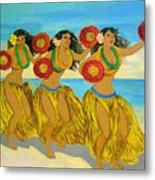 Moloka'i Hula Metal Print