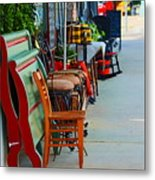 Mom And Pop Shops  Metal Print