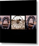 Mom Word Photography Metal Print