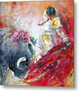 Moment Of Truth 2010 Metal Print by Miki De Goodaboom
