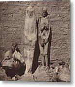 Momies Egyptiennes (egyptian Mummies) Metal Print