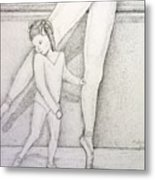 Mommy And Me  Metal Print