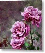 Moms Roses Metal Print