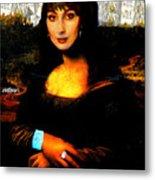 Mona Cher Metal Print