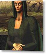Mona Lisa Aien Metal Print