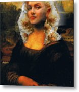 Mona Marilyn Metal Print