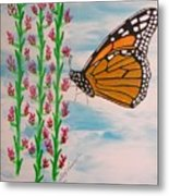 Monarch Heaven Metal Print
