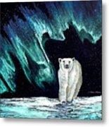 Monarch of His Arctic Domain Metal Print