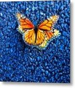 Monarchs Mating Metal Print