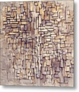 Mondrian: Composition, 1913 Metal Print