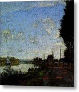 Monet Argenteuil  Metal Print