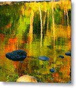 Monet Autumnal Metal Print