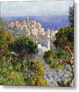 Monet: Bordighera, 1884 Metal Print