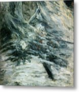 Monet Camille Monet On Her Deathbed Metal Print