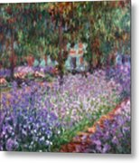 Monet: Giverny, 1900 Metal Print