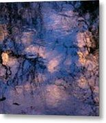 Monet On The Water Metal Print
