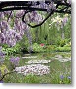 Monet Water Garden Metal Print