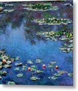 Monet: Waterlilies, 1906 Metal Print