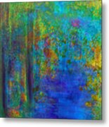 Monet Woods Metal Print