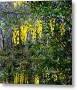 Monet's Garden Abstract II Metal Print