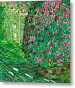 Monet's Parc Monceau Metal Print