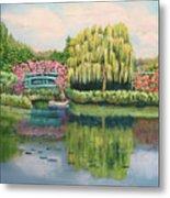 Monet's Summer Garden No.2 Metal Print