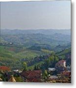 Monforte - Regione Peimonte Metal Print