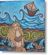 Monique Mermaid Metal Print