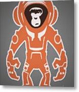 Monkey Crisis On Mars Metal Print