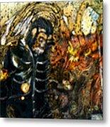 Monkey Demon Metal Print