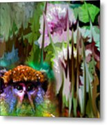 Monkey In My Heart Metal Print