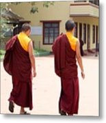 Monks Metal Print