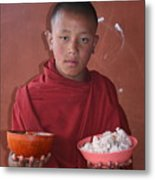 Monks Lunch Metal Print