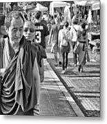 Monks Out And About Metal Print