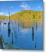 Monksville Reservoir Fall 2016 Metal Print
