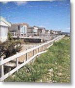 Monmouth Beach - Impressions Metal Print