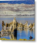 Mono Lake Spires Metal Print