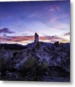 Mono Lake Sunset 4 Metal Print