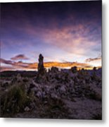 Mono Lake Sunset 5 Metal Print