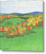 Monongalia County Autumn Metal Print