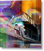 Monorail And Emp Metal Print