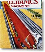 Monorail, C1940 Metal Print