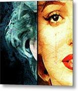 Monroe Panel A Metal Print
