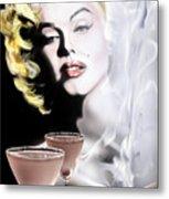 Monroe-seeing Beyond Smoke-n-mirrors Metal Print by Reggie Duffie
