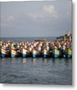 Monsoon Mooring Metal Print